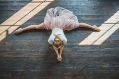 Dançarino novo que levanta na câmera Fotos de Stock