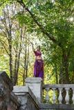 Dançarino oriental Imagens de Stock