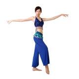 Dançarino oriental atrativo Imagem de Stock Royalty Free