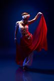 Dançarino oriental bonito Fotos de Stock