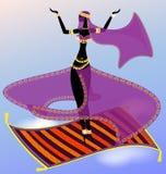 dançarino oriental feericamente Foto de Stock Royalty Free