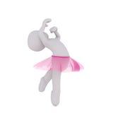 Dançarino pequeno Girl Imagem de Stock Royalty Free