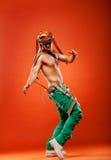Dançarino profissional do conluio fotografia de stock