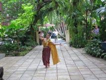 Dançarino tailandês Foto de Stock Royalty Free