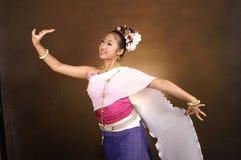 Dançarino tailandês Foto de Stock