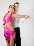 Dançarinos Foto de Stock Royalty Free