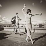 Dançarinos Imagens de Stock