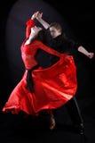 Dançarinos Fotos de Stock Royalty Free