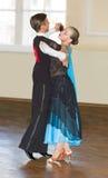 Dançarinos adolescentes na competição de ISDF foto de stock royalty free