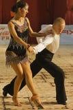 Dançarinos: Alexandru Dutcovici e Ana Marín Fotografia de Stock Royalty Free