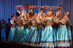 Dançarinos bonitos Foto de Stock Royalty Free