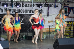 Dançarinos bonitos novos Foto de Stock Royalty Free