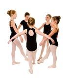 Dançarinos consideravelmente novos da bailarina Fotografia de Stock Royalty Free