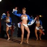 Dançarinos cubanos Fotografia de Stock Royalty Free