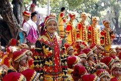 Dançarinos culturais Fotos de Stock