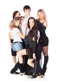 Dançarinos da convicção fotos de stock