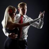 Dançarinos da paixão Fotos de Stock Royalty Free