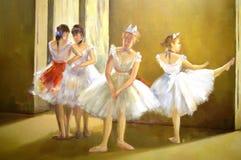 Dançarinos de bailado Fotos de Stock