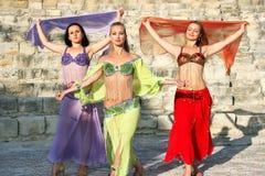 Dançarinos de barriga imagens de stock