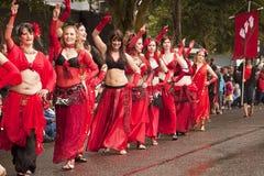 Dançarinos de barriga visionários Fotografia de Stock Royalty Free