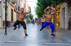 Dançarinos de Bollywood Imagem de Stock