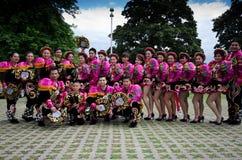 Dançarinos de Equador Fotografia de Stock Royalty Free