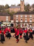 Dançarinos de Morris, Inglaterra Fotografia de Stock