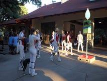 Dançarinos de Morris no minnehaha vídeos de arquivo