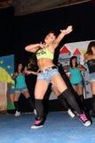 Dançarinos de Movida Fotografia de Stock Royalty Free