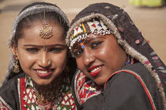 Dançarinos de Rajasthani Imagem de Stock Royalty Free