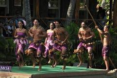 Dançarinos de Samoa Fotos de Stock Royalty Free