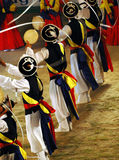 Dançarinos de Samulnori Imagem de Stock Royalty Free