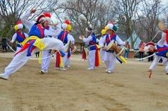 Dançarinos de Sangmo Imagem de Stock