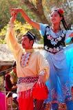 Dançarinos de Uyghur imagem de stock