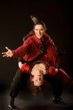 Dançarinos do balanço Fotografia de Stock Royalty Free