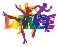 Dançarinos do disco Fotografia de Stock Royalty Free