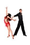 Dançarinos do Latino fotografia de stock royalty free