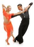 Dançarinos do Latino fotos de stock