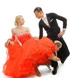 Dançarinos do Latino fotografia de stock