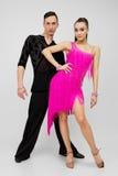 Dançarinos do Latino fotos de stock royalty free