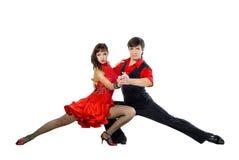 Dançarinos do tango Fotografia de Stock