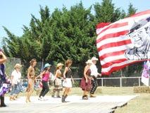 Dançarinos do vaqueiro Foto de Stock Royalty Free