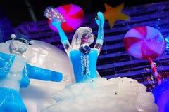 Dançarinos feitos pelo gelo Foto de Stock Royalty Free