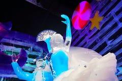 Dançarinos feitos pelo gelo Fotografia de Stock Royalty Free