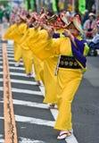 Dançarinos japoneses do festival Fotos de Stock