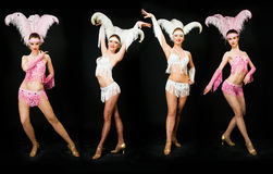 Dançarinos magros Fotos de Stock