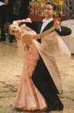 Dançarinos: Maria e Bogdan Talpiga fotografia de stock royalty free