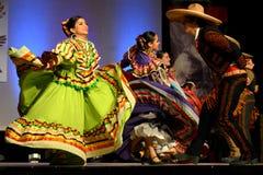 Dançarinos mexicanos fotografia de stock