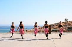 Dançarinos modernos Fotos de Stock Royalty Free