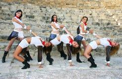 Dançarinos modernos fotos de stock